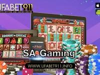 SA Gaming คาสิโนออนไลน์ระดับโลก ลงทุนที่ไร้ความเสี่ยง